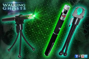 Green Laser Grid Pen & Tripod Holder Ghost Hunt Paranormal Investigation Tool UK